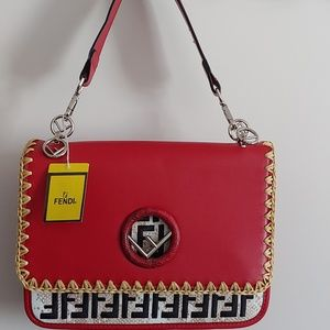 Red Fendi Purse